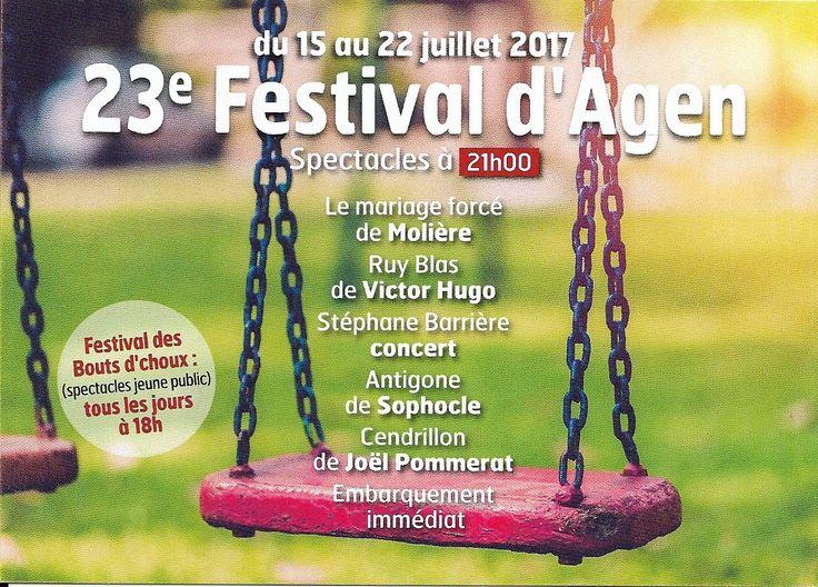 15-22 July - Agen - Festival