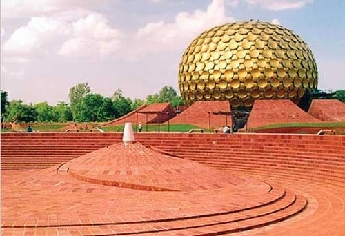 Auroville (City of Dawn) in Tamil Nadu