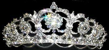 Rose Tiara for Irish Dancer | ... rose white signature tiara ideal for irish dance performances and feis