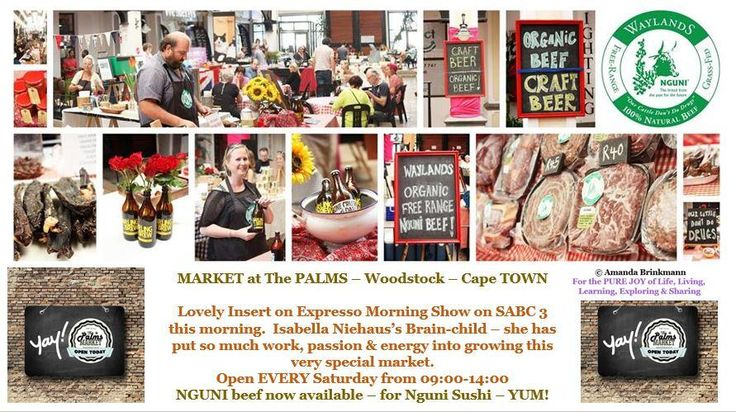 Great insert on SABC 3-Market at The Palms, Woodstock Cape Town. SO worth the visit - you'll be delighted & happy! Embedded image permalink