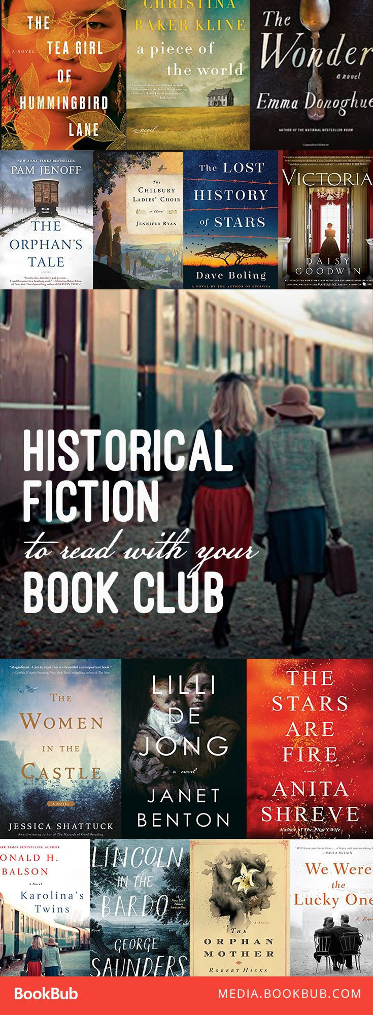 18 Historical Fiction Novels To Read With Your Book Club