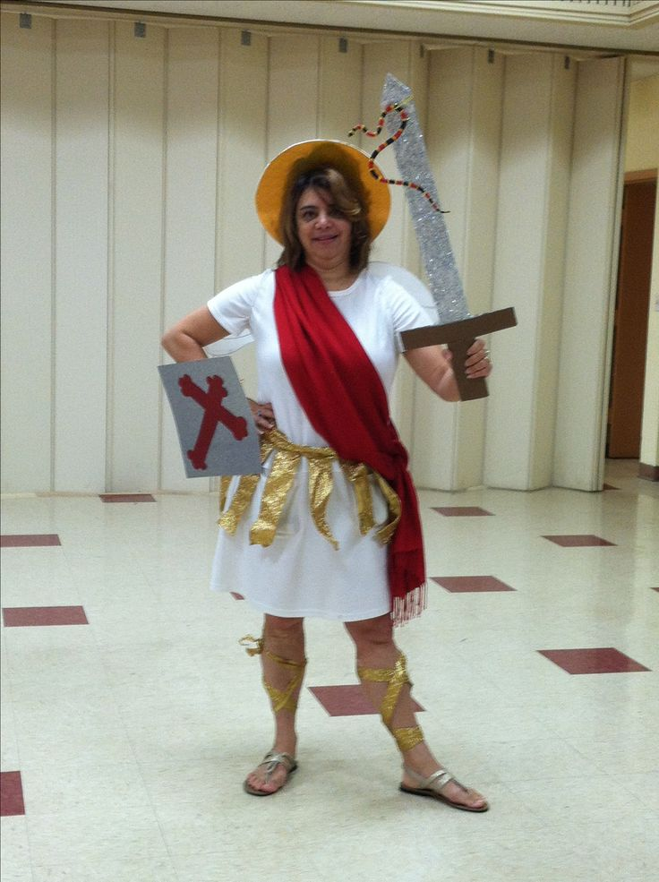 St Michael the Archangel for All saints day, bible character costume