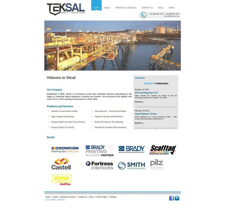 Teksal Web Design by Star 3 Media