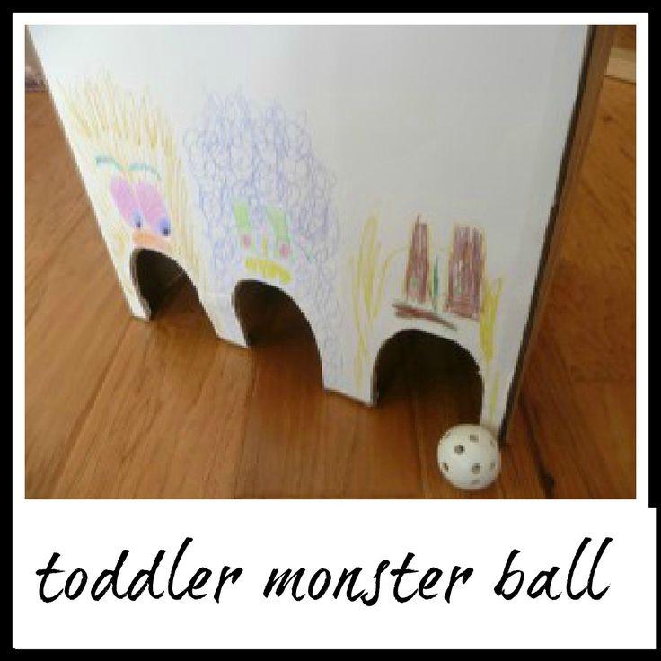 Toddler monster ball