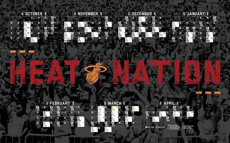 Miami Heat 2014-2015 NBA Schedule Wallpaper free desktop ...