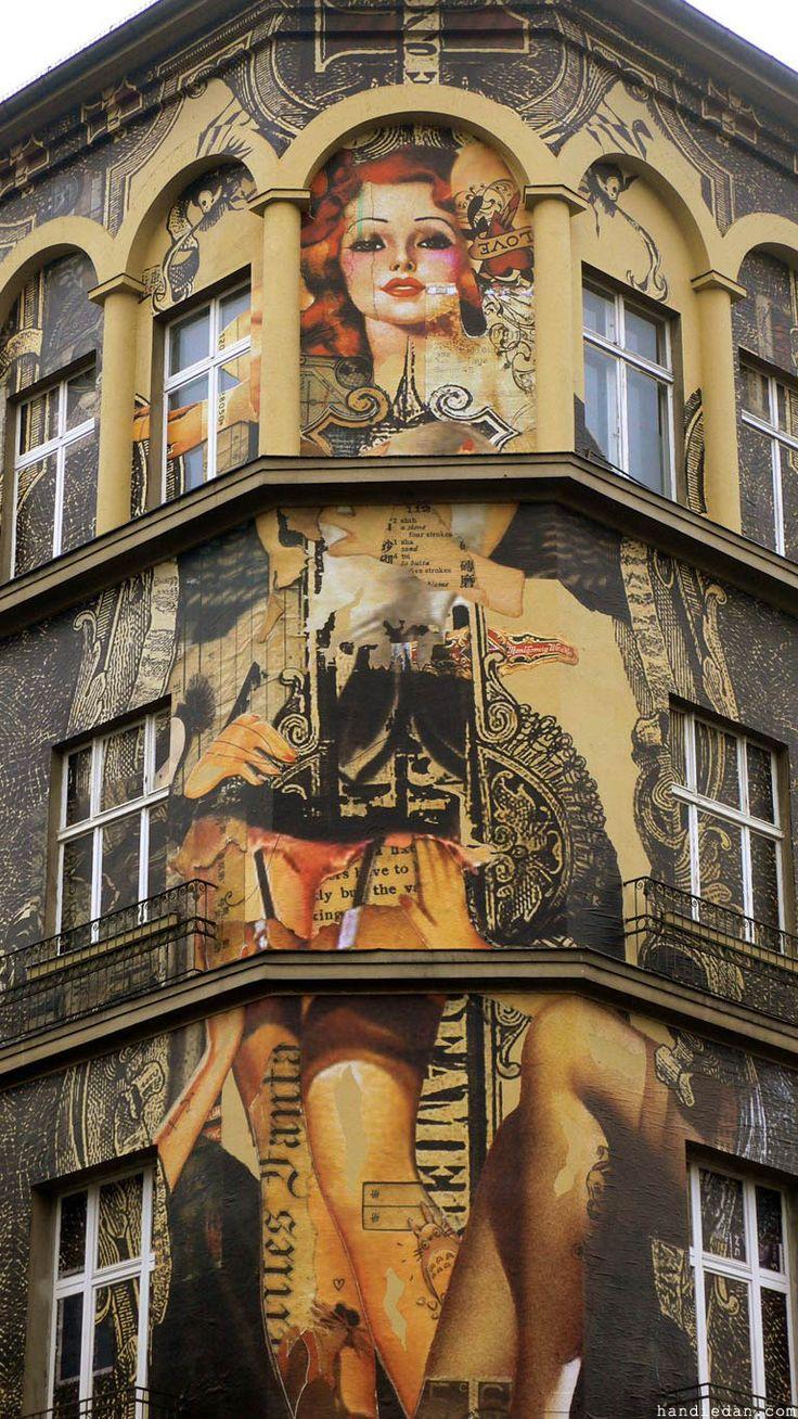 Handiedan One Wall #7 at Urban Nation Berlin Www.handiedan.com