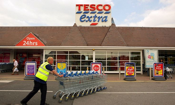 Tesco trials pizza delivery service at South London store