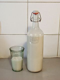 Ange's Blog: Lait d'amande maison - C'est ultra simple!!!