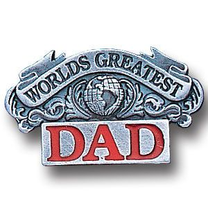 Collector Pin - Worlds Greatest Dad