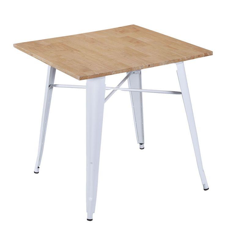 idealer tisch f r gastronomie und hotelleriegebrauch stahlgestell und holzplatte idealer. Black Bedroom Furniture Sets. Home Design Ideas