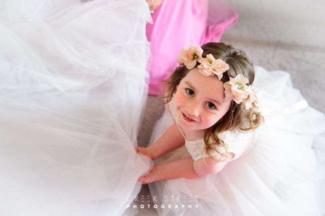 flower girl #flowergirl #wedding #dress