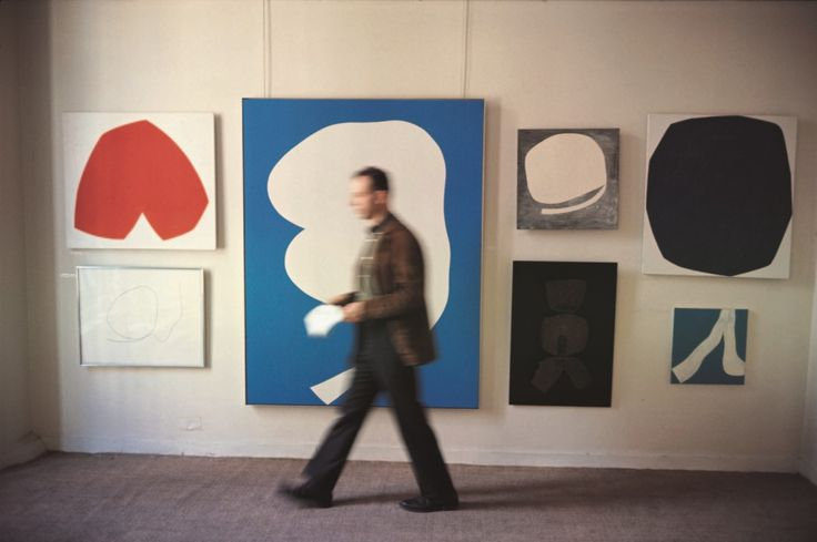 Ellsworth Kelly in Betty Parsons Gallery, New York 1963