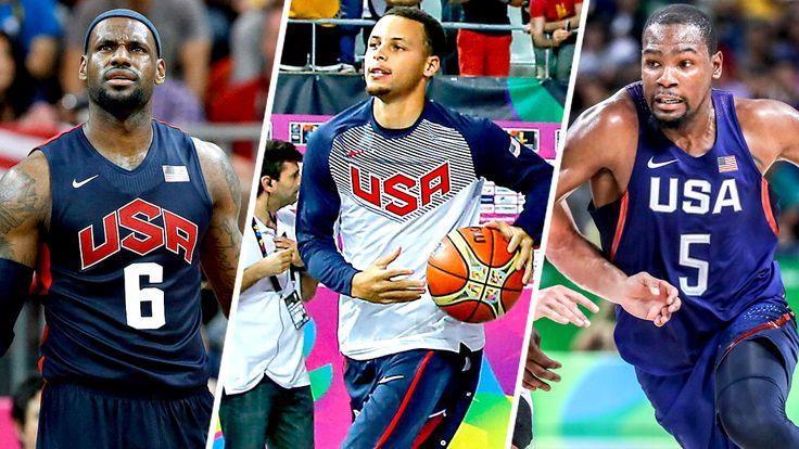 Se anuncia el sorteo de baloncesto olímpico masculino de EE. UU. Y el calendario de la ronda preliminar...