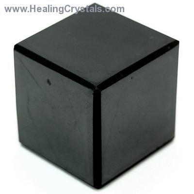 Cube - Shungite Cubes (Russia)- Shungite - Healing Crystals