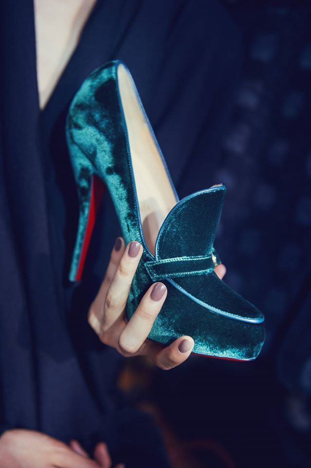 News - Christian Louboutin Online - Ulyana Sergeenko's Couture Academics