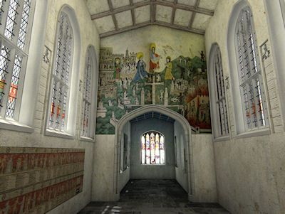 Visualising the Guild Chapel, Stratford-upon-Avon: digital models as research tools in buildings archaeology