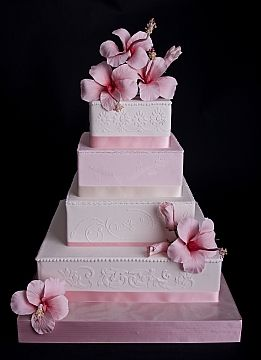 #beach wedding cake ... Wedding ideas for brides & grooms, bridesmaids & groomsmen, parents & planners ... itunes.apple.com/... The Gold Wedding Planner iPhone App ♥