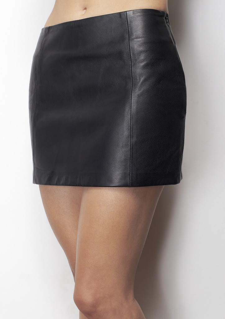 Leather Skirt - soft as butter leather