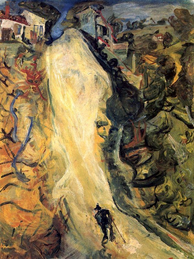 The Road Up  Chaim Soutine - 1921