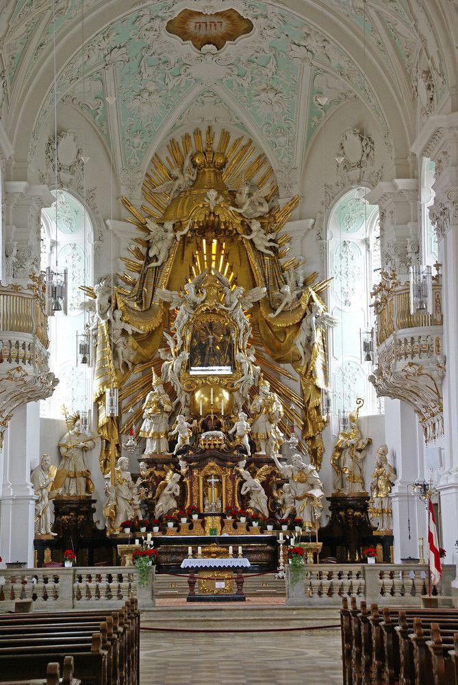 The High Altar at Gössweinstein (Bayern, Franken) Wallfahrtskirche, Germany