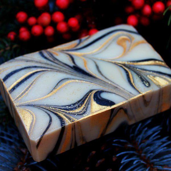 Frankincense & Myrrh handcrafted fine soap - Gift of the Magi | Magellan's Gift Micro Soap Company
