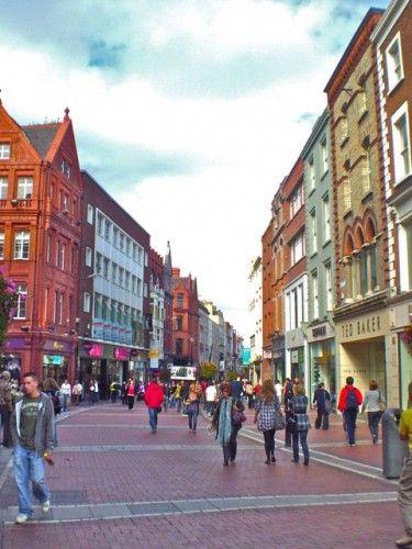 Grafton street- Dublin, Ireland