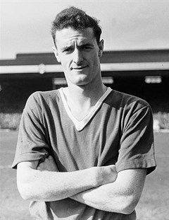Liam Whelan - Manchester United (Lost his life in the Munich Air Disaster on Thursday 6th February 1958)