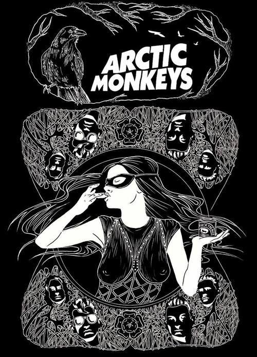 Arctic Monkeys   Black And White   Arctic monkeys album ...