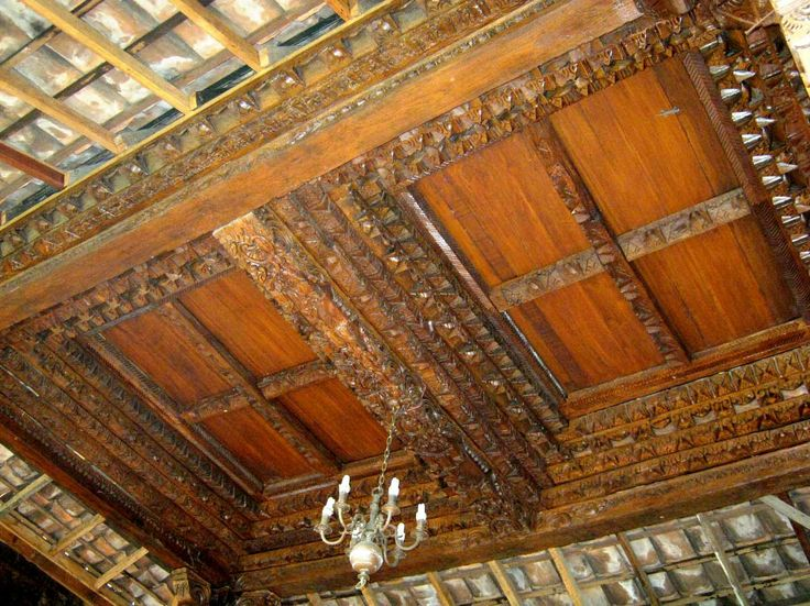 Minimalist House Design Idea from Central Java Indonesia for Carving Ceiling  Ideas