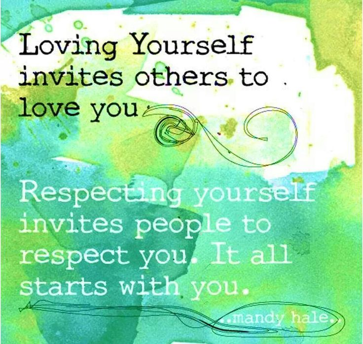 Relationship Quotes About Love And Respect: Quote Self Love
