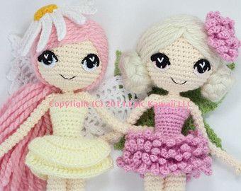 PATTERN: Althaena the Summer Fairy Crochet Amigurumi by epickawaii