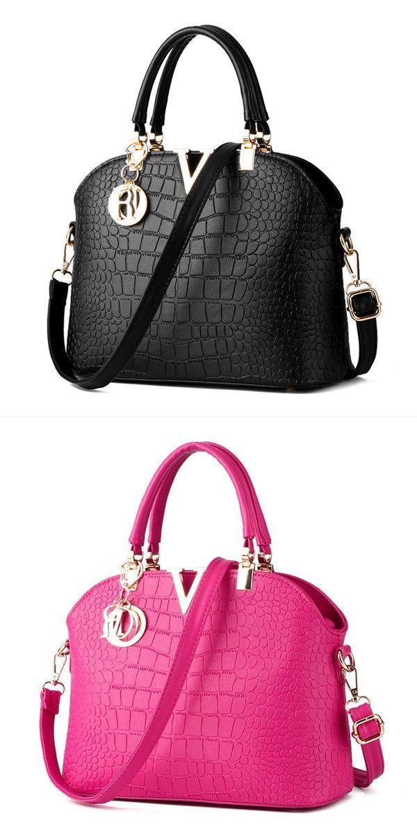 a37653eae4 Women crocodile leather handbags ladies elegant shoulder bags crossbody bags  messenger bags z wallace handbags  camp a  handbags  handbags  jabong  t ...