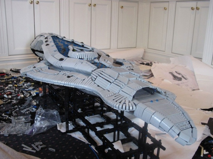 11 titanic fan-made Lego starships that will blow you away | DVICE