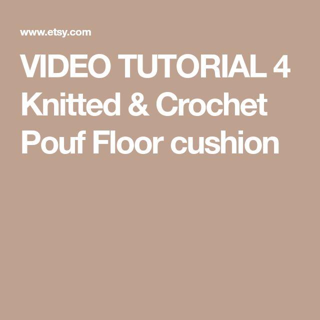 Best 25 Crochet Pouf Ideas On Pinterest Crochet Pouf