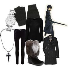 Kirito casual cosplay | Anime inspired outfits, Casual ...
