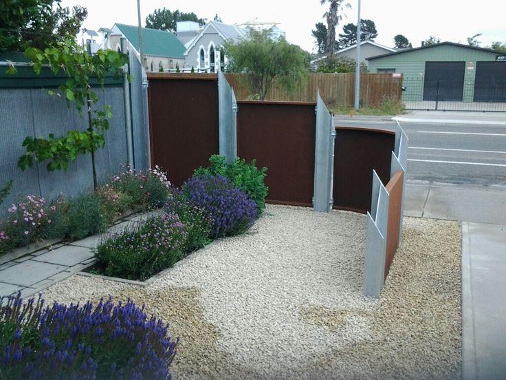 My Corten Garden Fence 4