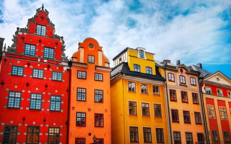 Stortorget, der große Platz, mitten in der Altstadt von #Stockholm