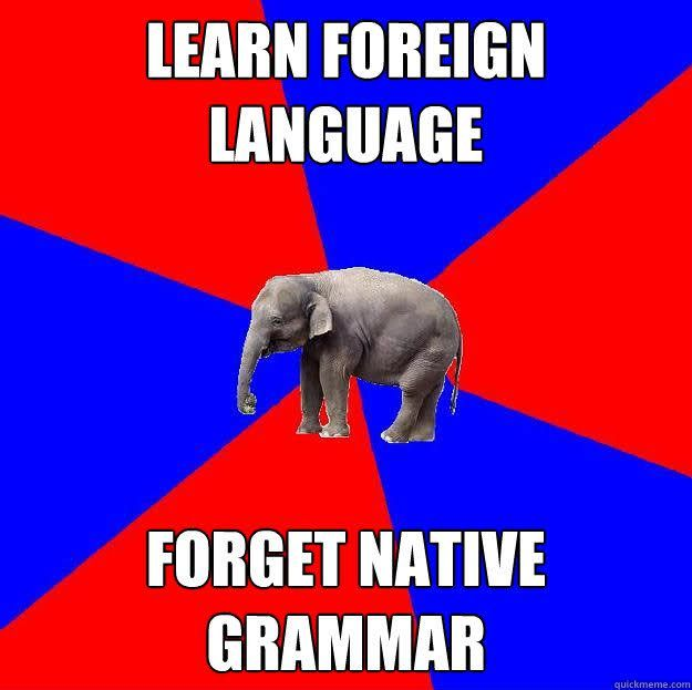 Foreign language major problems