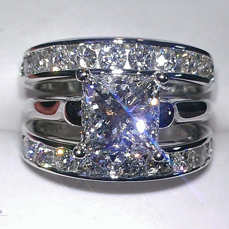 3 25ct Diamond Wedding Ring Jewelry Appraisals