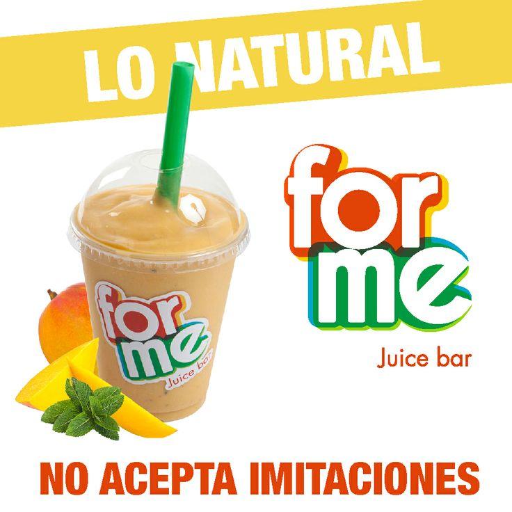 Si es natural es #GFY #GoodForYou #ForMeJuiceBar http://goo.gl/JNHa49