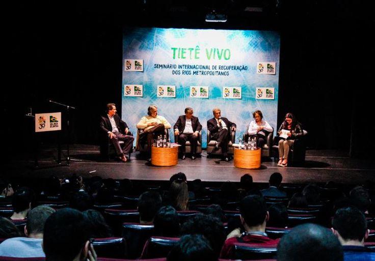 Seminário Internacional reuniu propostas para acelerar despoluição do Tietê - SOS Mata Atlântica