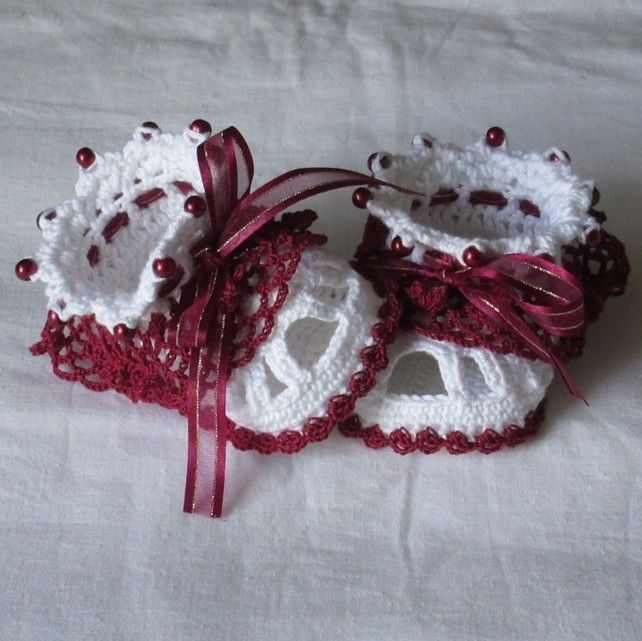 ♡ Crochet baby sandals,Crochet baby shoes,Crochet baby booties £7.50