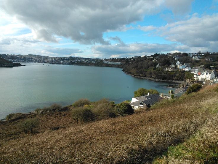 The view of Kinsale village from Charles Fort