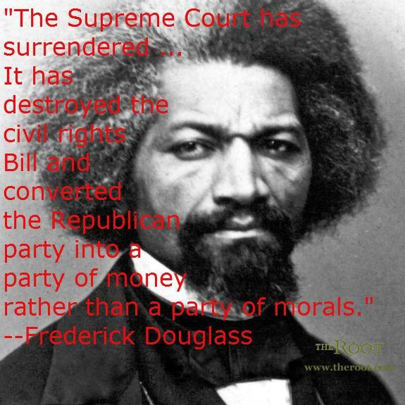 Best Black History Quotes: Frederick Douglass on the Republican Party