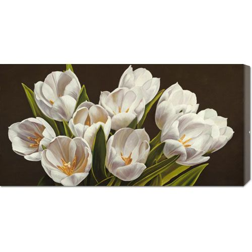 Bouquet di Tulipani by Serena Biffi: 36 x 18 Canvas Giclees, Wall Art