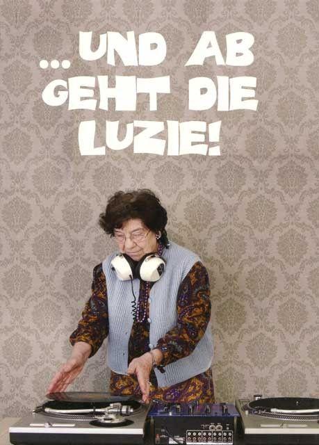 ... und ab geht die Luzie!