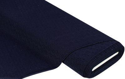 Elastik-Jersey+Lochstich,+nachtblau+ € 6,95