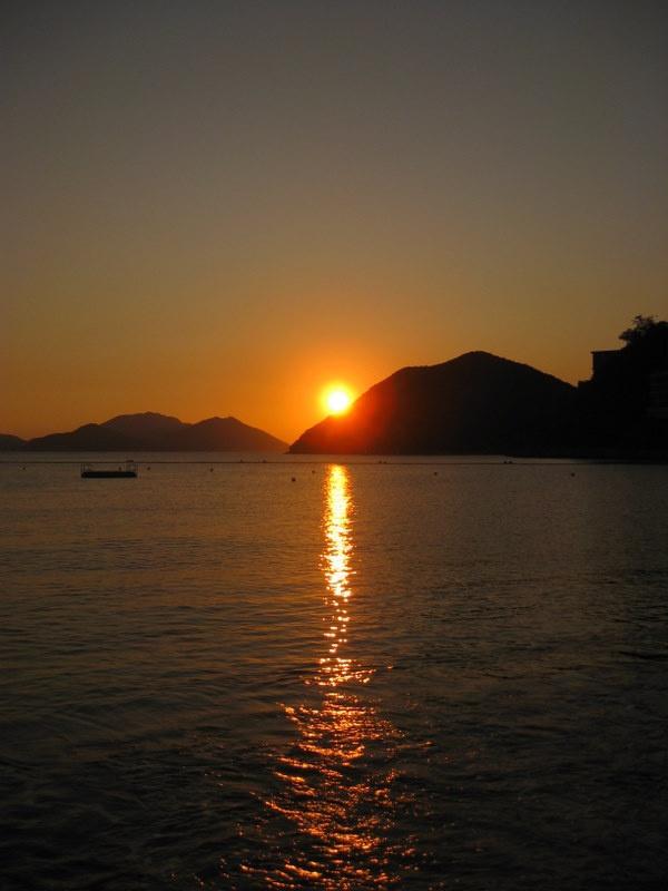 Gorgeous Sunset over Repulse Bay, Hong Kong Island