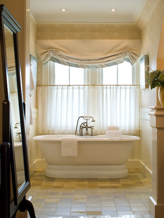Best Rideaux Images On Pinterest Window Treatments Curtains - Cafe curtains for bathroom for bathroom decor ideas