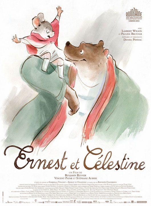 """En partenariat avec Studio Canal vous avez aujourd'hui la possibilité de gagner 10 places de cinéma pour le film d'animation """"Ernest et Célestine""""."""